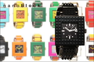 nanoblockデコれる腕時計