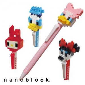 ナノブロック キャラクターボールペン