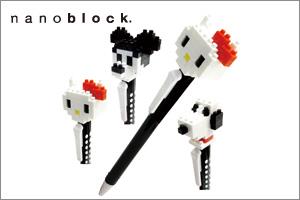nanoblock ボールペン キャラクター