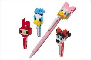 nanoblock ボールペン キャラクター2