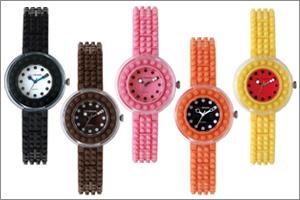 ナノブロック デコれる腕時計(丸型)