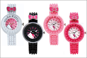 nanoblock×ハローキティ デコれる腕時計