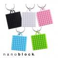 ナノブロックのキーホルダーが発売されました!